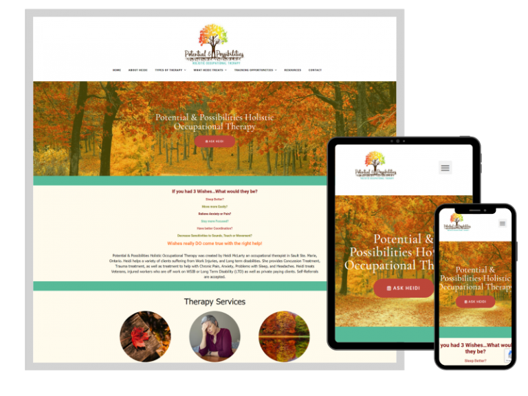 Potential & Possibilities Holistic Occupational Therapy in Sault Ste. Marie, ON