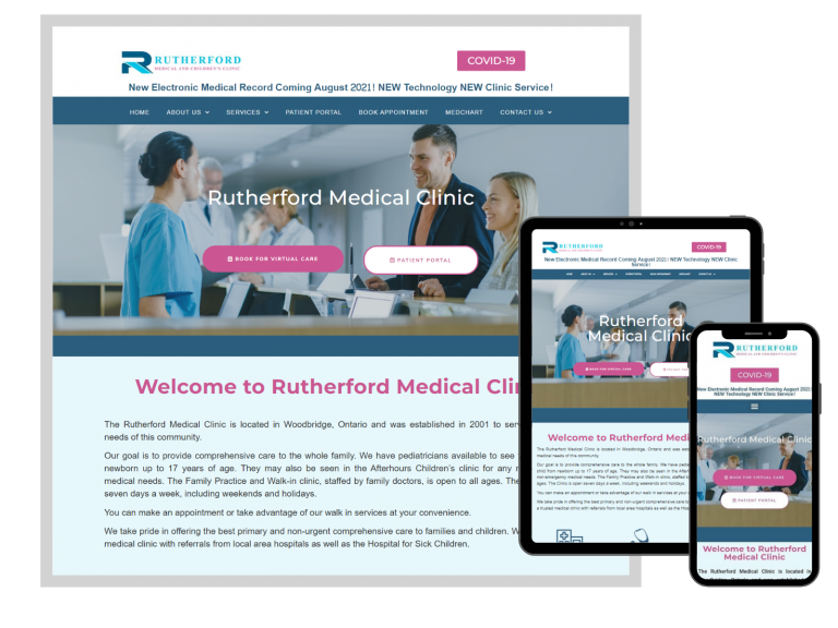 Rutherford Medical and Children's Clinic, Woodbridge, ON